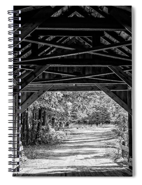 Blow Me Down Covered Bridge Cornish New Hampshire Spiral Notebook