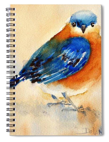 Bluebird #3 Spiral Notebook