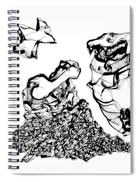 Bone Spiral Notebook