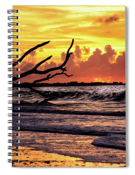 Boneyard Beach Spiral Notebook