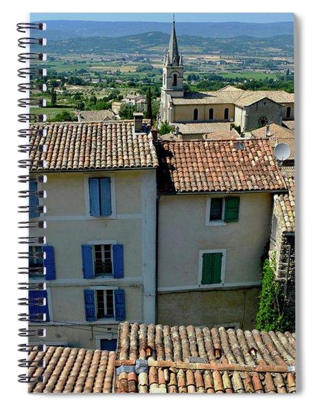 Bonnieux Village Spiral Notebook