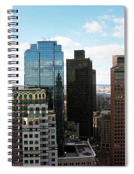 Boston Financial District Spiral Notebook