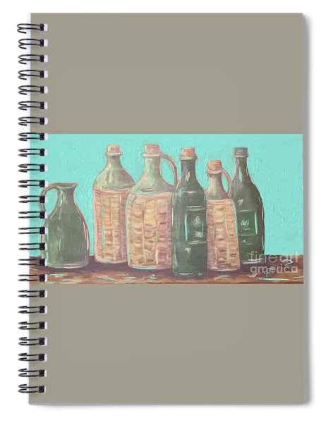 Bottles Spiral Notebook