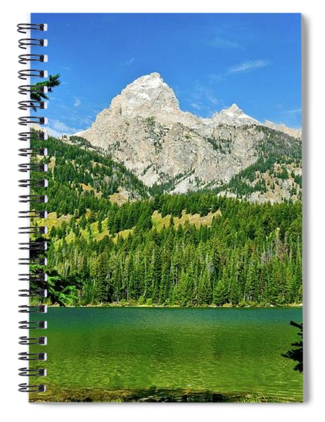 Bradley Lake Spiral Notebook