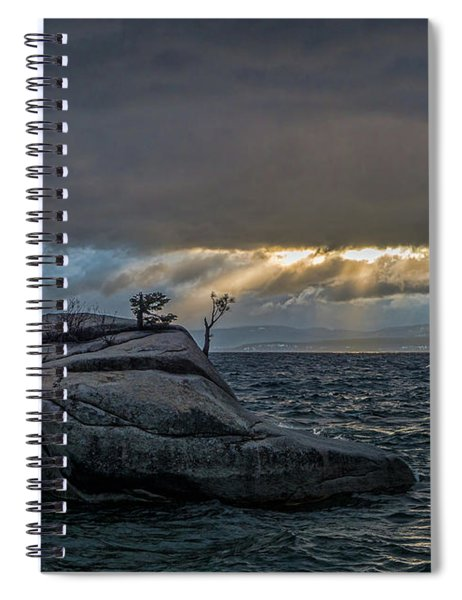 Breaking Light Spiral Notebook