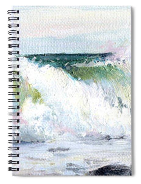 Breaking Seas Spiral Notebook