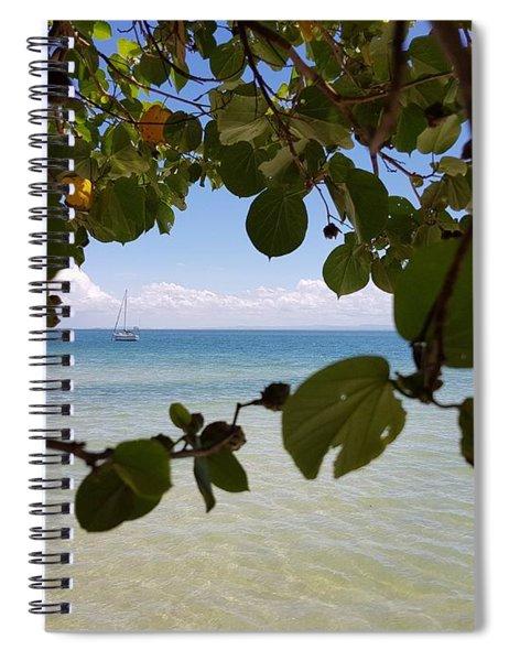 Bribie View Spiral Notebook