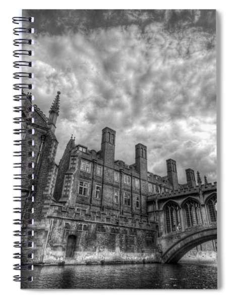 Bridge Of Sighs - Cambridge Spiral Notebook
