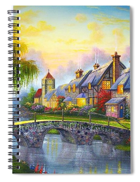 Bridge Over Troubled Waters Spiral Notebook