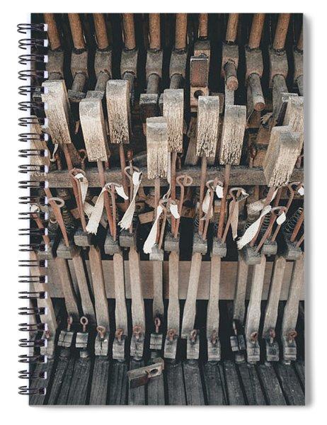 Broken Piano Spiral Notebook