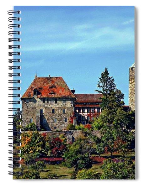 Burg Colmberg Spiral Notebook