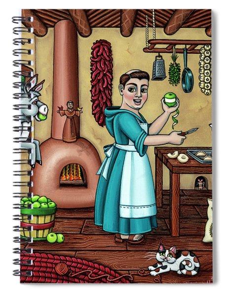 Burritos In The Kitchen Spiral Notebook