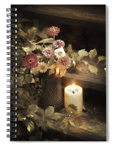 By Candle Light Spiral Notebook