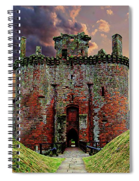 Caerlaverock Castle Spiral Notebook