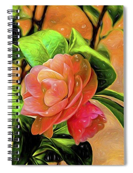 Camellia Candy Spiral Notebook