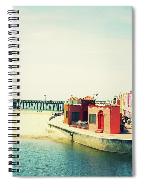 Capitola Venetian- Art By Linda Woods Spiral Notebook