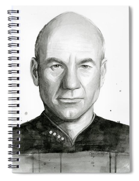 Captain Picard Spiral Notebook