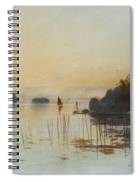 Carl Brand   1871 1930    Landscape Spiral Notebook