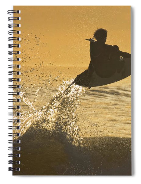 Catching Air Spiral Notebook