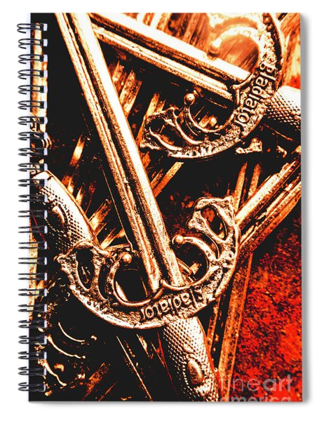 Centurion Of Battle Spiral Notebook
