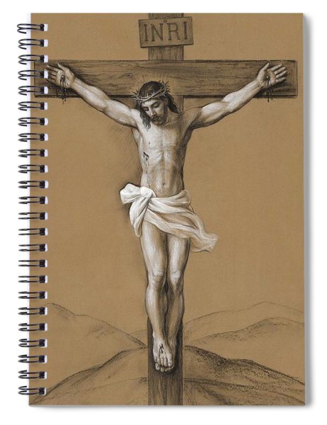 Christ Crucified Spiral Notebook