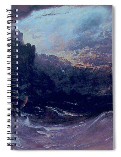 Christ Stilleth The Tempest Spiral Notebook
