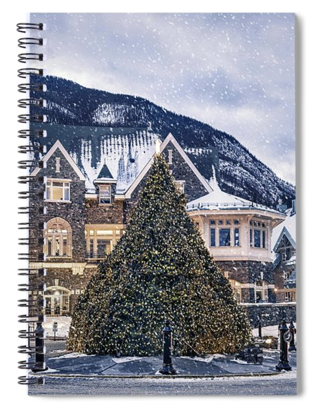 Christmas Dreams Spiral Notebook
