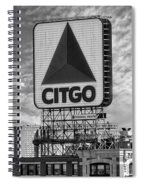 Citgo Sign Kenmore Square Boston Spiral Notebook