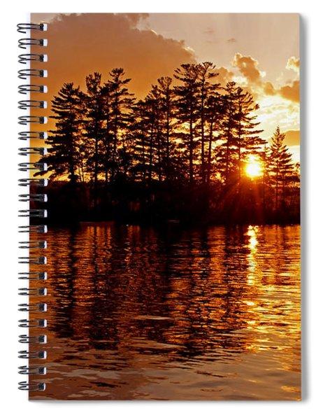 Clarity Of Spirit Spiral Notebook