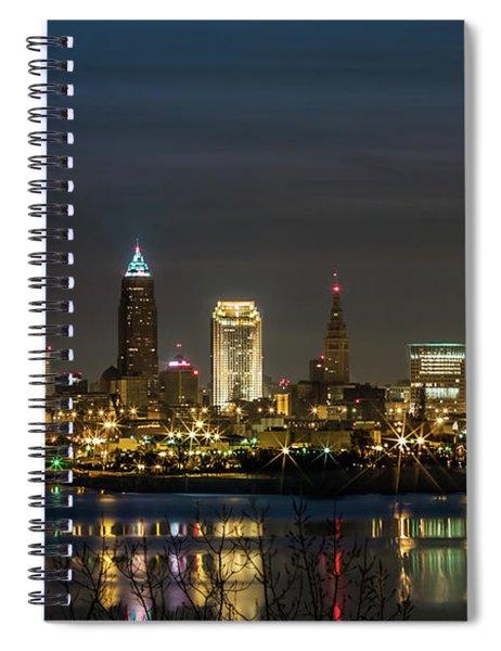 Cleveland Nights Spiral Notebook