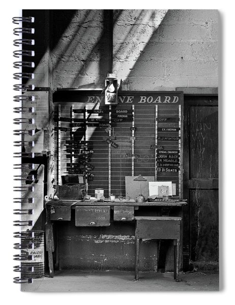 Clocked Out Spiral Notebook