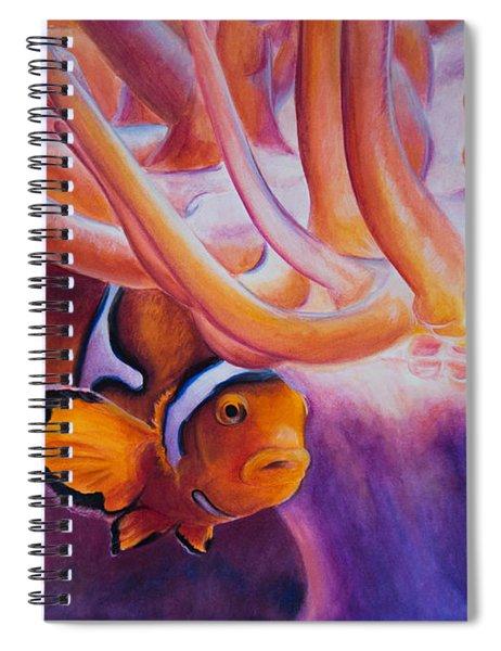 Clownfish Spiral Notebook