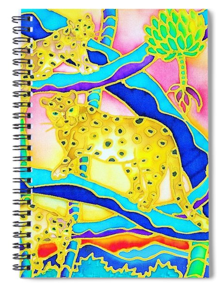 Colorful Tropics 6 Spiral Notebook