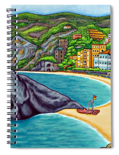 Colours Of Monterosso Spiral Notebook