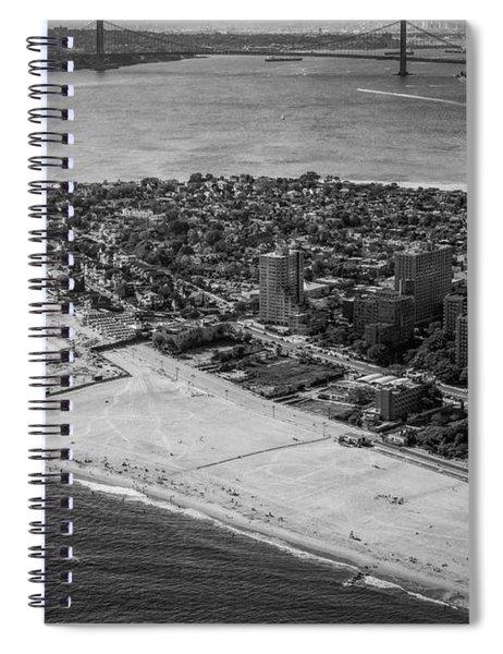Coney Island Beach Spiral Notebook