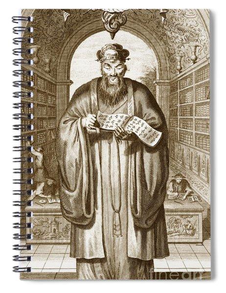 Confucius Spiral Notebook