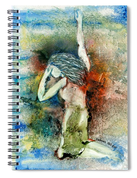 Cry For Help Spiral Notebook
