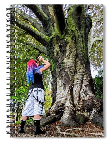 Curiosity Spiral Notebook