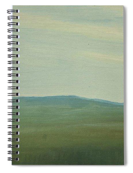 Dagrar Over Salenfjallen- Shifting Daylight Over Distant Horizon 5 Of 10_0029 91x61 Cm Spiral Notebook