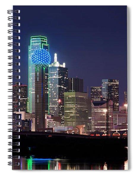 Dallas Skyline Cowboys Spiral Notebook
