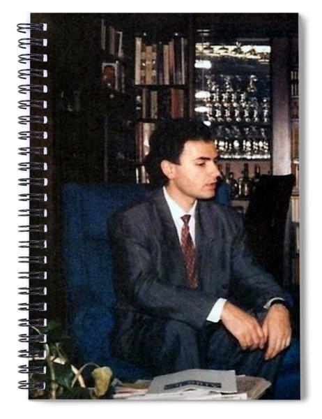 Dejan Stojanovic Spiral Notebook