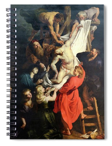 Descent From The Cross Spiral Notebook