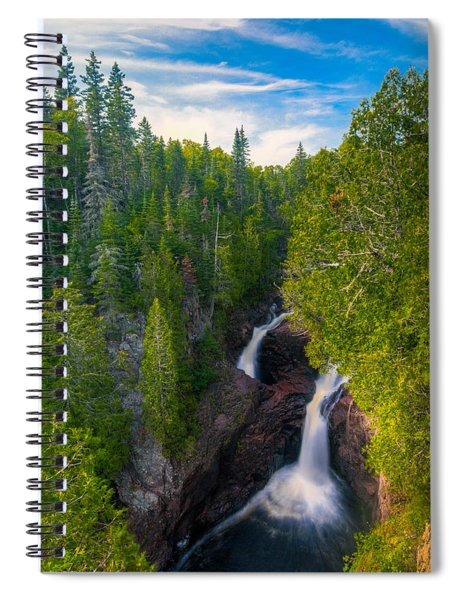Devil's Kettle  Spiral Notebook