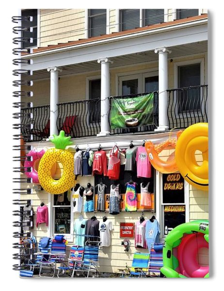 Dewey Beach Store Spiral Notebook