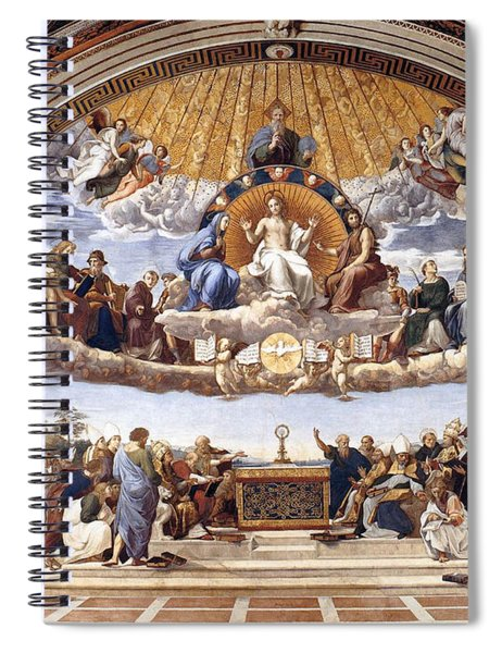 Disputation Of The Eucharist Spiral Notebook