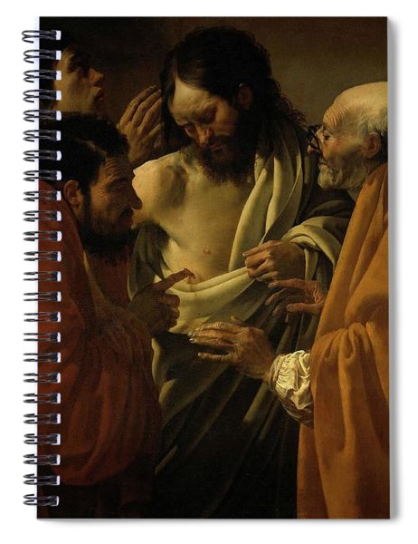 Doubting Thomas Spiral Notebook