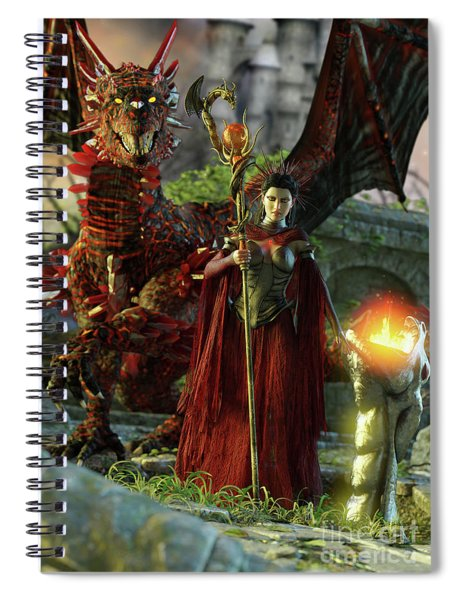 Dragon Queen Spiral Notebook