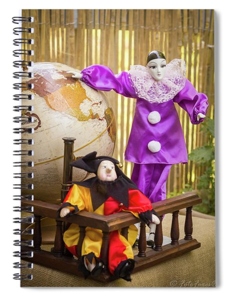 Dreaming About Far Away Countries Spiral Notebook