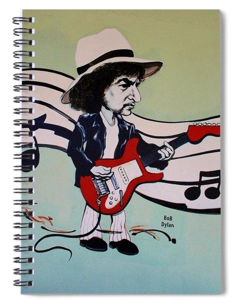 Dylan Spiral Notebook