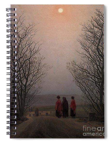 Easter Morning Spiral Notebook